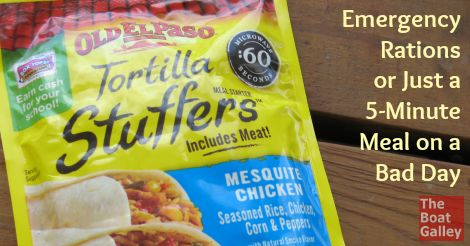 Tortilla stuffers - 5 minute meal!