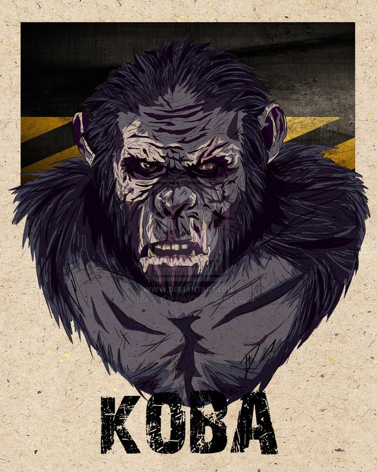Koba: Dawn of the Planet of the Apes..my new rottie shares this name, Koba:)