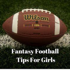 MK the Twenty-Something: Fantasy Football Tips For Girls
