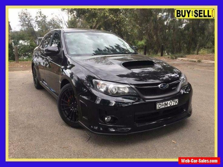 2012 Subaru WRX MY13 Club Spec (AWD) Black Manual 5sp M Sedan #subaru #wrx #forsale #australia