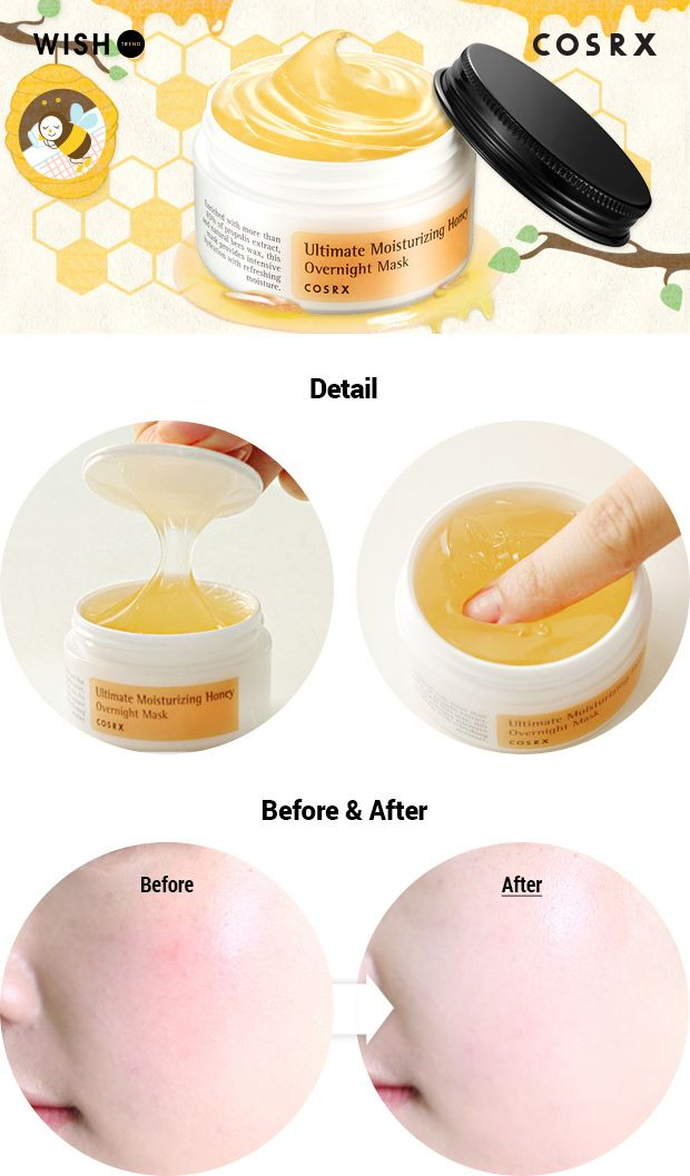 [COSRX] Ultimate Moisturizing Honey Overnight Mask