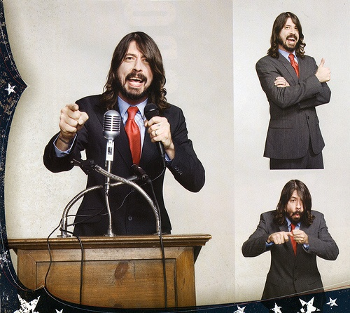 Dave Grohl for President - he's got my vote!