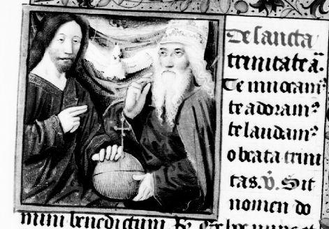 Trinity, Hours, II-2101 scan 581; Patrimonio Nacional; Madrid; España