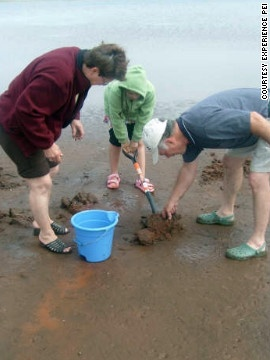 5 fun ways to get a taste of the harvest. Visitors to Prince Edward Island (#PEI) can dig for #clams with a local guide and feast on their work for dinner.http://www.cnn.com/2012/10/12/travel/harvest-experiences/index.html#