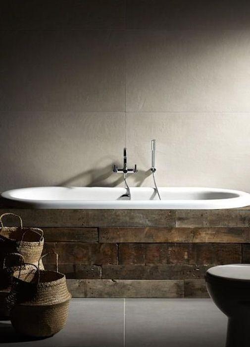 Красивый декор ванны