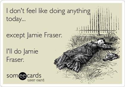 Outlander Jamie Frazer... and 99.9% of the female population would!