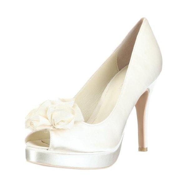 SeguiPrezzi.it - Menbur Wedding Amanda 04338, Scarpe con tacco da sposa, Avorio (Elfenbein/Ivory), 38 - Prezzo: EUR 54.97 (44% di sconto)