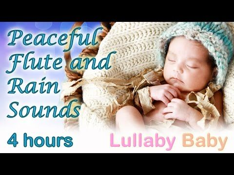 "✰ 4 HOURS ✰ PEACEFUL FLUTE ""Rain Dance"" ✰ Relaxing Rain Sounds ✰ Lullaby Baby Sleep Music - YouTube"