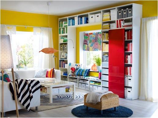 IKEA Oturma Odası: Rengarenk bir oturma odası IKEA'da sizleri bekliyor!