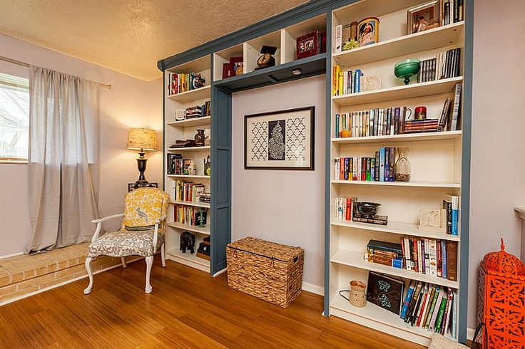 Ikea Hack Bookcases Made To Look Built In Painted With