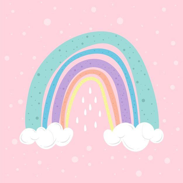 Rainbow Illustration Free Vector Free Vector Freepik Freevector Design Rainbow Cartoon Rainbow Art Rainbow Wallpaper