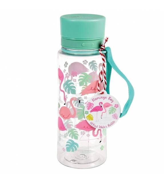 Botella para agua Flamencos