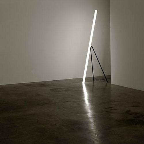 The Line Light LED lamp by designer-artist Chicako Ibaraki is a pure Japanese expression of minimalism.