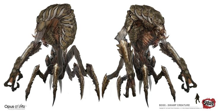 Alien Planet Creatures | Alien Creature Concept Art