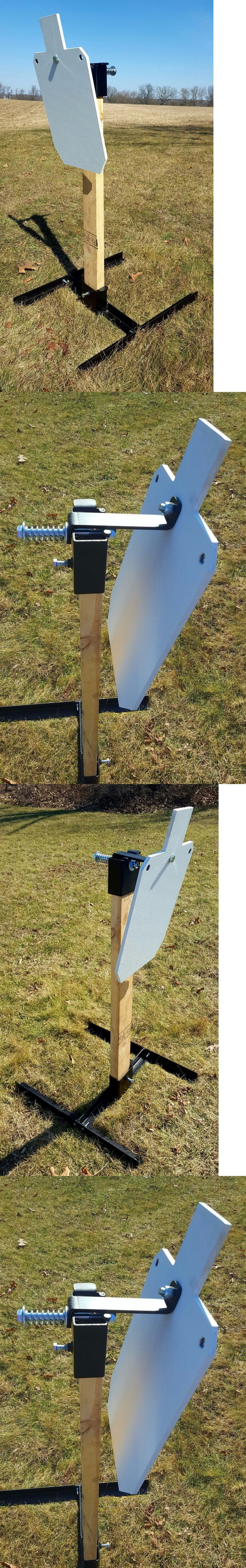 how to build steel popper targets