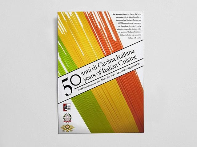 Cucina Italiana poster by Simon Massey di Vallazza, via Flickr