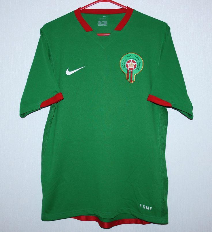 Morocco National Team home shirt 06/07 Nike