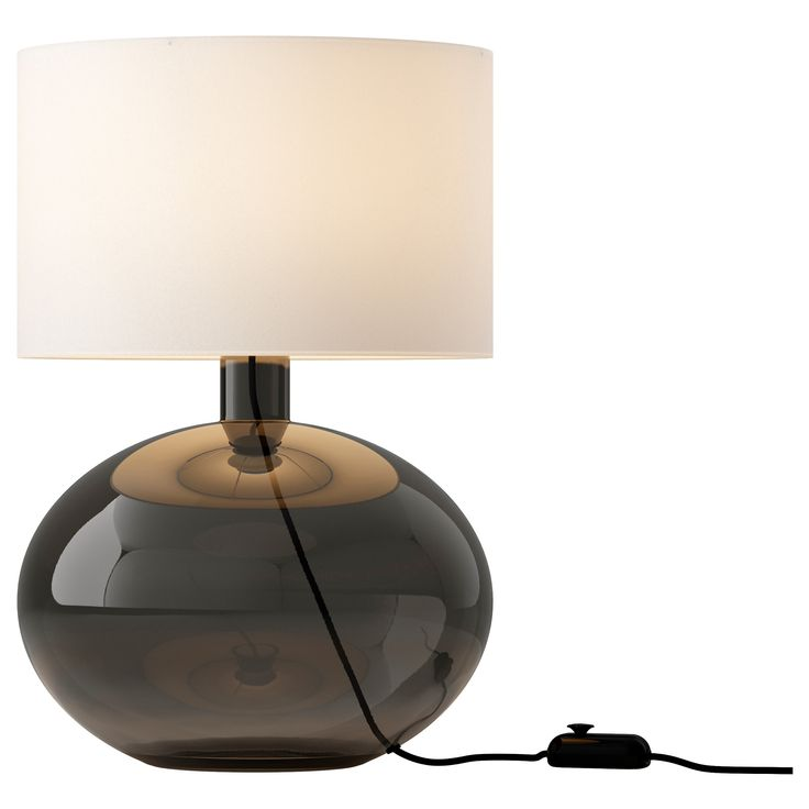 ljus s ysby lampe de table gris ikea interior
