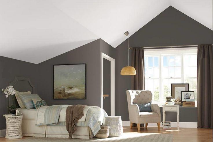 Sherwin Williams Urbane Bronze   Guest bedroom decor, Best bedroom paint colors, Paint colors ...