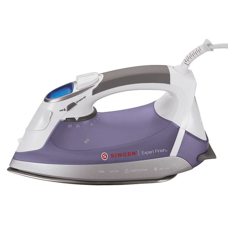 Singer Expert Finish Steam Iron, Multicolor