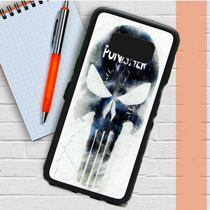 Marvel The Punisher Logo Samsung Galaxy S8 Plus Case Dewantary