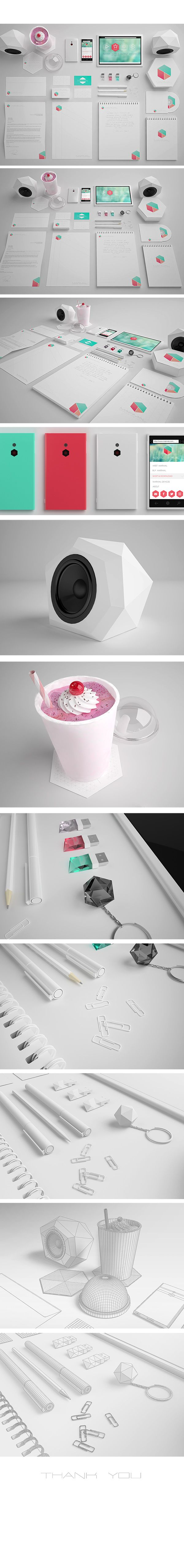 Marmal Brand Identity by Monika Kusheva, via Behance