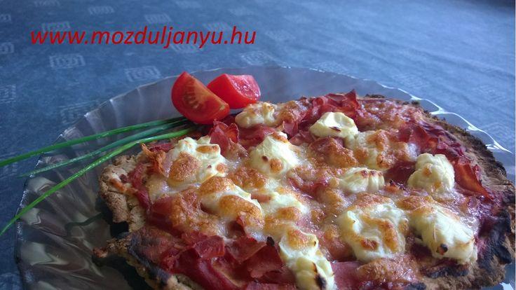 NoCarb pizza a legfinomabb verzió | Klikk a képre a receptért!