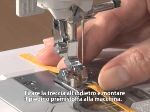 Brother Accessori Piedino per trecce - YouTube