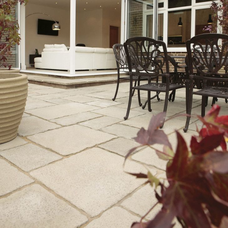 Engineered Stone Paving Outdoor Patio Tiles Snap Together Flooring