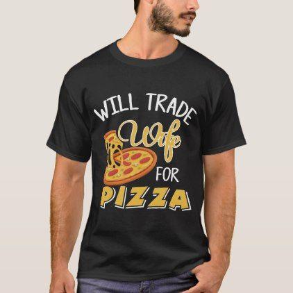 Shirt für Pizza-Liebhaber. Geschenk für Ehemann | Zazzle