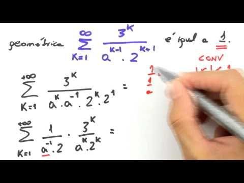 Me Salva! SER08 - Séries Geométricas: Exercícios Resolvidos 3