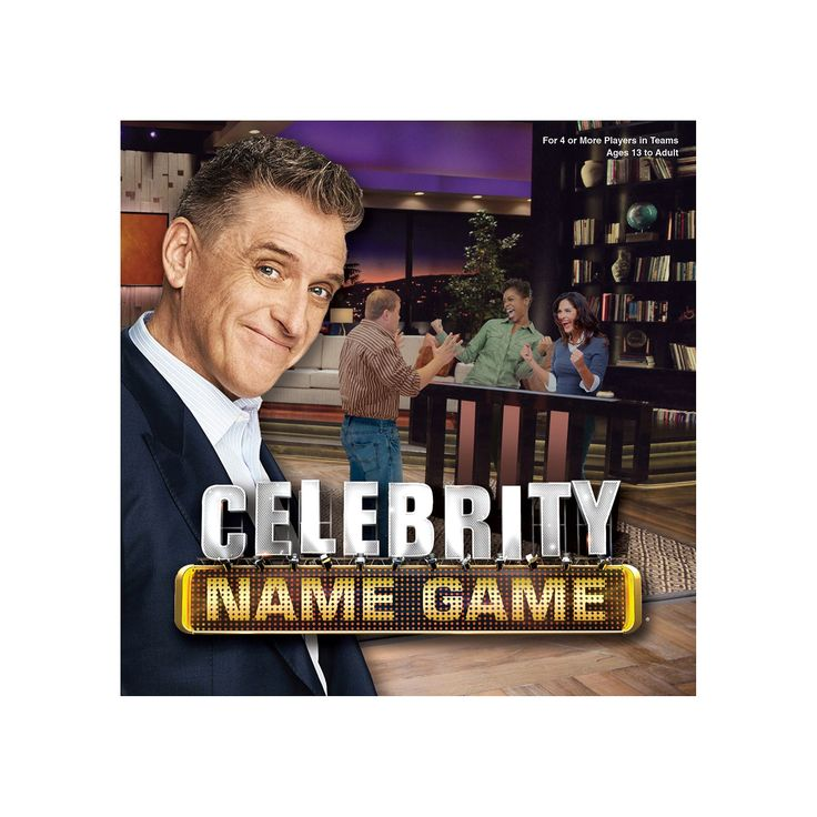 Celebrity Name Game, Multicolor
