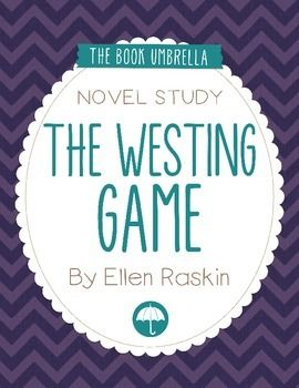 The Westing Game Worksheets and Literature Unit