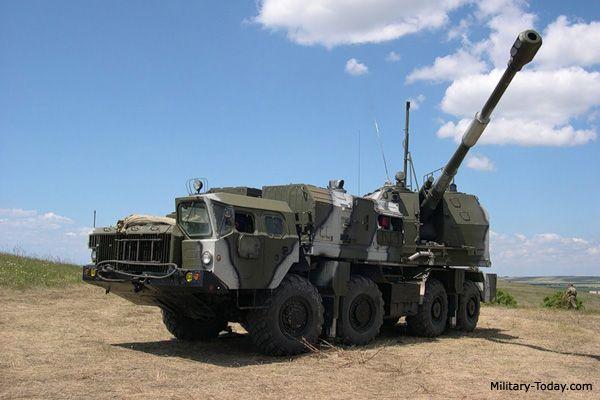 self propelled artillery   Bereg 130-mm Self-Propelled Gun   Military-Today.com