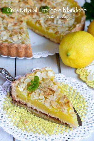 Crostata alla Crema di Limone e Mandorle
