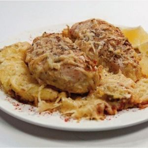 Chicken breast baked in cream cheese. Recipes with photos.