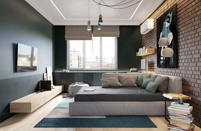 decordemon: Apartment in Kiev exudes freshness and serenity