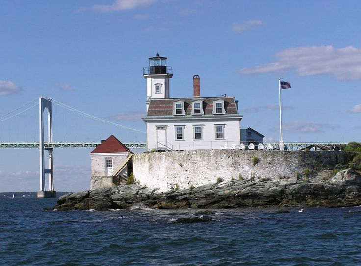 Rose Island Lighthouse, Newport, Rhode Island All the best historic accommodations are haunted. Rhode Island's Rose Island Lighthouse is said to be occupied by Charles Curtis, who, guests and staff say, is continuing the duties he performed as keeper from 1887-1918. The reports are so common that the TV show Ghost Hunters paid a visit. Overnight guests play lighthouse keeper and can choose among three options of the duties they'll perform, from logging the weather to manning the museum shop.