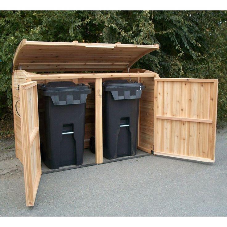 Oscar Waste Management Shed - 6' x 3' - Sam's Club