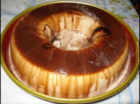 Bolo de sorvete caseiro - Veja mais em: http://www.cybercook.com.br/receita-de-bolo-de-sorvete-caseiro.html?codigo=100113