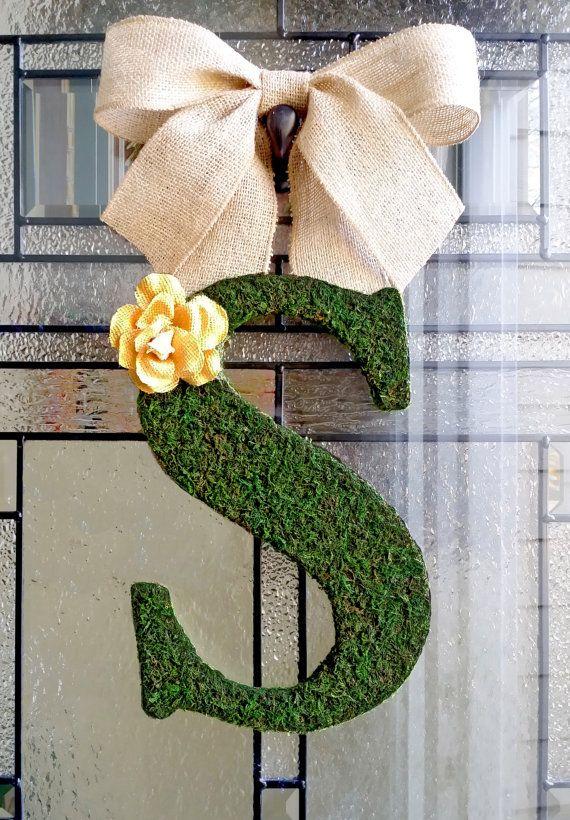 front door lettersThe 25 best Front door initial ideas on Pinterest  Initial door