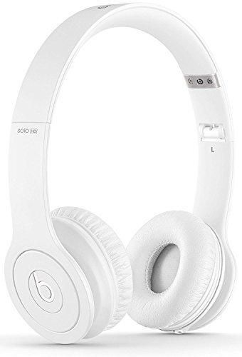 Beats Solo HD On-Ear Headphone with Mic & Remote Control Cable (Certified Refurbished) (Drenched in White)