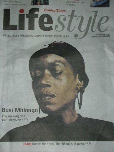 Busi Mhlongo the Queen of Africa in my head