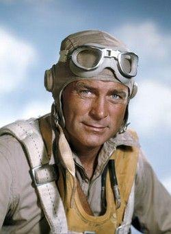 """Black Sheep Squadron  Baa Baa Black Sheep: Robert Conrad as Major Gregory """"Pappy"""" Boyington."""