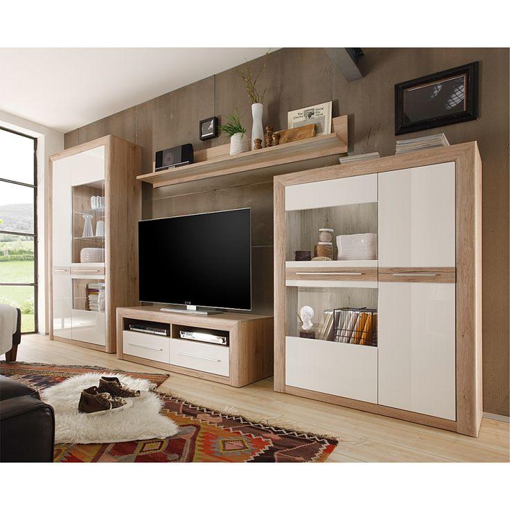 Wohnzimmer Schrankwand Modern. Free Luxus Wohnzimmer Mabel Fein ...