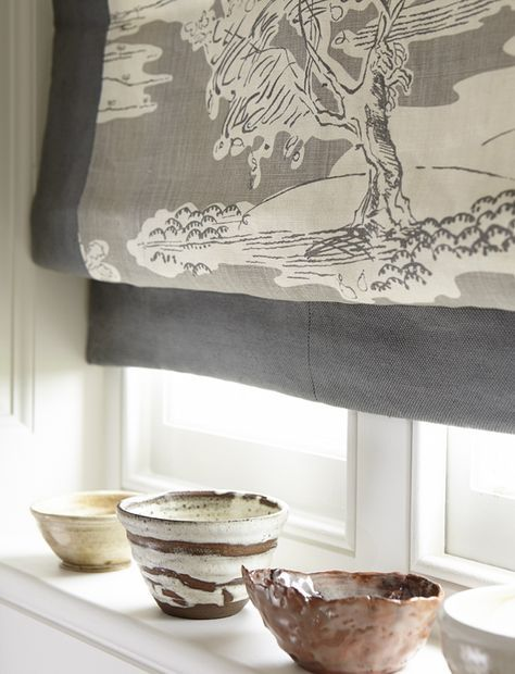 Neutral yet imposing print / Vanessa Arbuthnott made to measure