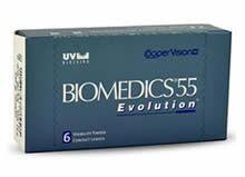 Biomedics 55 Evolution zijn maandlenzen van een hoogstaande kwaliteit. De lenzen zijn zeer soepel en ultradun waardoor de interactie tussen ooglid en contactlens geminimaliseerd wordt.