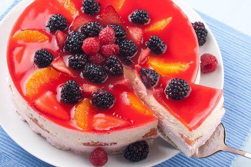 tarta de queso y yogur