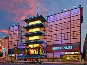 Las Vegas hotel photo. Imperial Palace is being remodeled and looks nothing like this anymore.