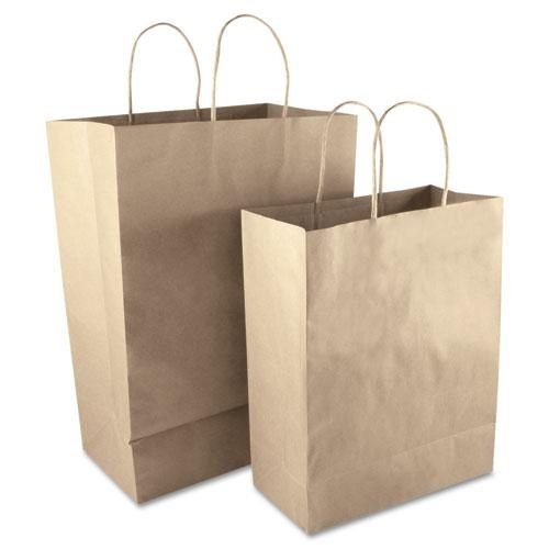Small Brown Paper Bag. Personalize it with your own decorations. An inexpensive way to present Bridesmaid gifts.